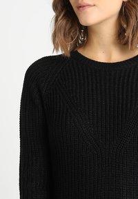 JDY - JUSTY - Strikket kjole - black - 5