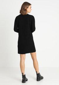JDY - JUSTY - Strikket kjole - black - 2