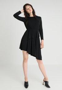 JDY - JDYESTHER DRESS - Jersey dress - black - 0