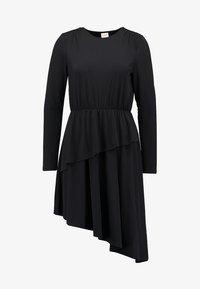 JDY - JDYESTHER DRESS - Jersey dress - black - 4