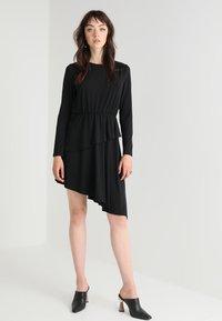 JDY - JDYESTHER DRESS - Jersey dress - black - 1