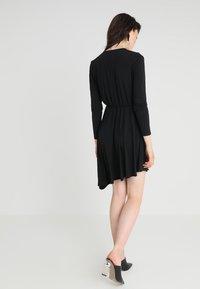 JDY - JDYESTHER DRESS - Jersey dress - black - 2