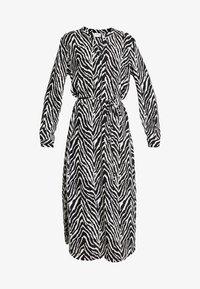 JDY - JDYSNAKEY LONG DRESS  - Robe d'été - black/white - 5