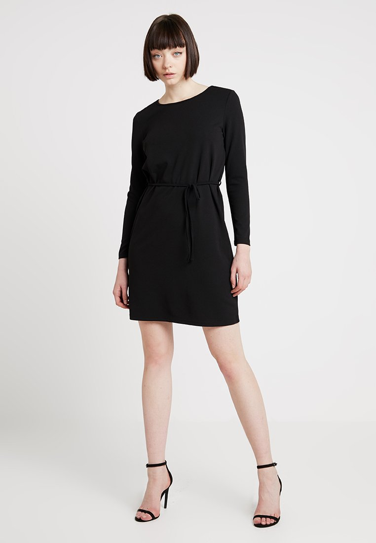 JDY - JDYINA LAUREN BELT DRESS - Freizeitkleid - black