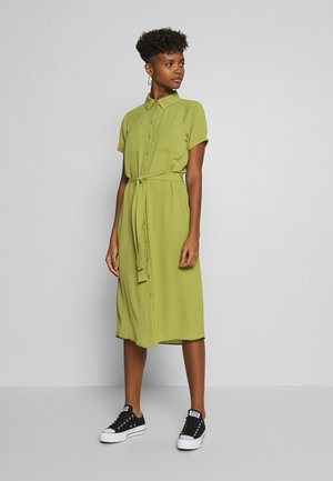 JDYPINTO MIDI DRESS - Abito a camicia - green olive