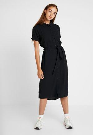JDYPINTO MIDI DRESS - Robe chemise - black