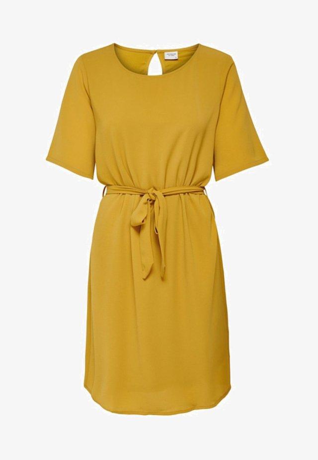 JDYAMANDA - Korte jurk - harvest gold