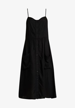 JDYKITTI MIDI DRESS  - Vestido camisero - black