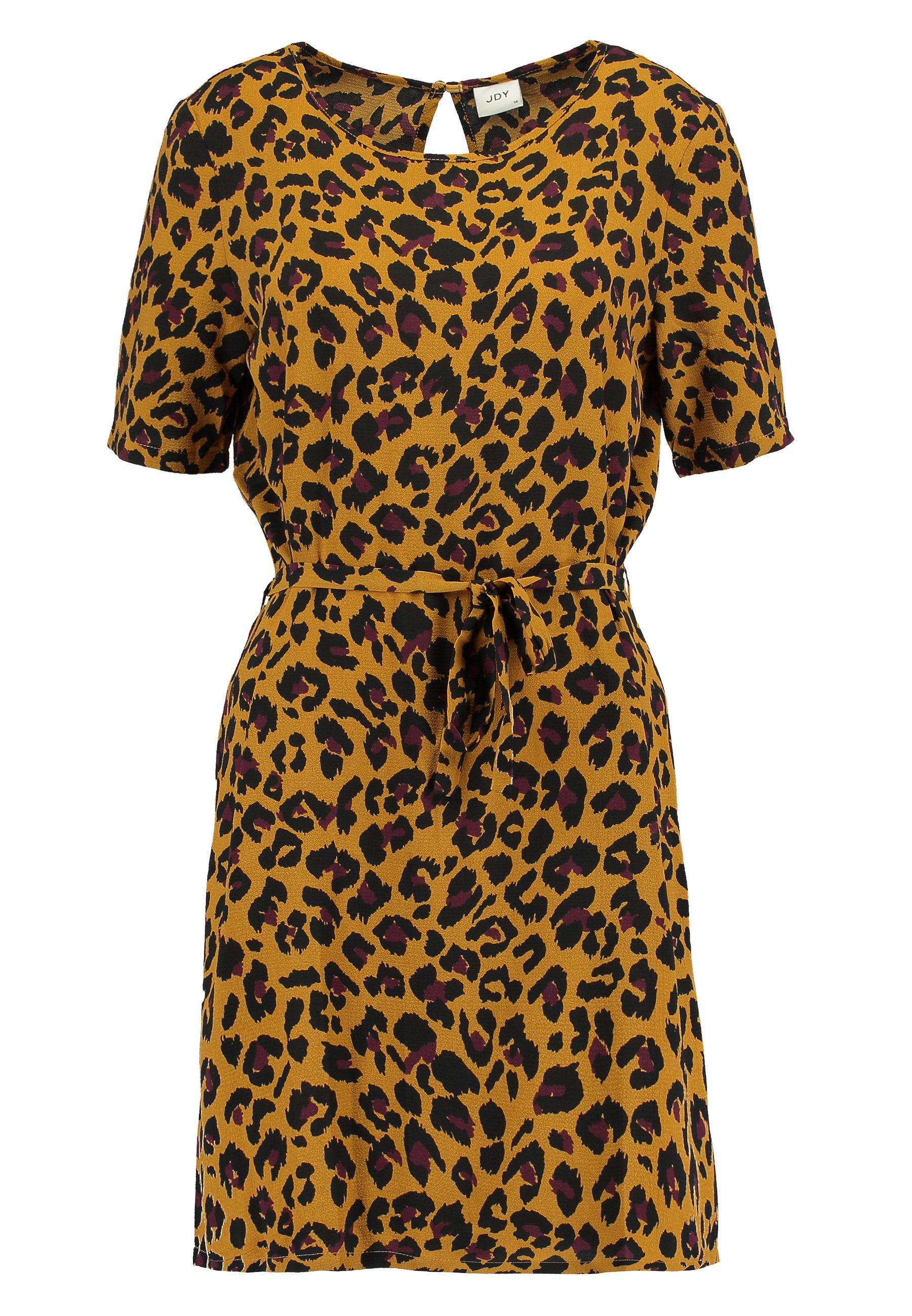JDY JDYUTRECHT - Sukienka letnia - golden brown