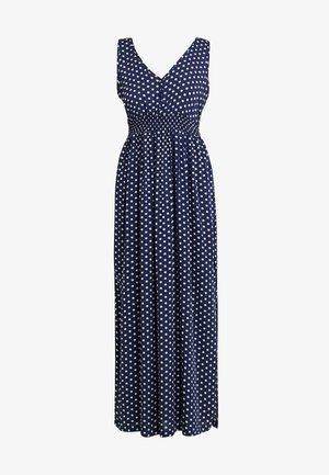 JDYLOGAN DRESS - Maxi dress - peacoat/oyster grey