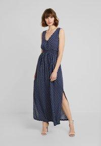 JDY - JDYLOGAN DRESS - Maxi dress - peacoat/oyster grey - 0