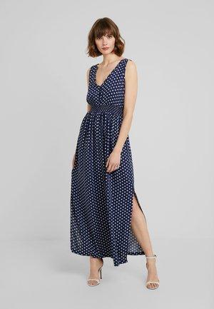 JDYLOGAN DRESS - Maxi šaty - peacoat/oyster grey
