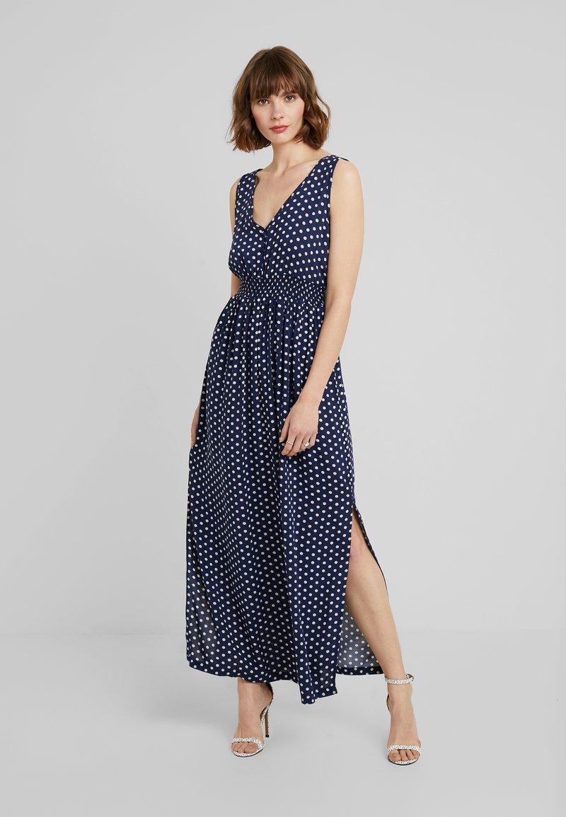 JDY - JDYLOGAN DRESS - Maxi dress - peacoat/oyster grey