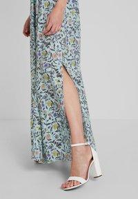 JDY - JDYLOGAN DRESS - Długa sukienka - harbor gray/multi color - 4