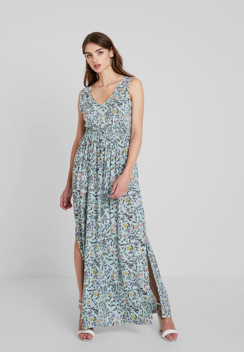 JDY - JDYLOGAN DRESS - Długa sukienka - harbor gray/multi color