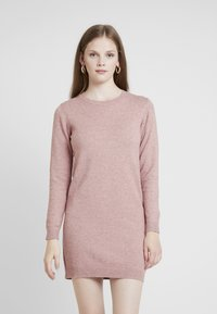 JDY - Pletené šaty - polignac/melange - 0