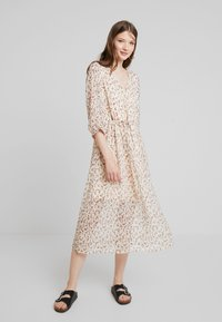 JDY - JDYFREYA 3/4 DRESS - Korte jurk - cream pink - 0