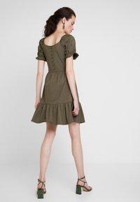 JDY - JDYVICTORIA DRESS - Jerseykjole - kalamata - 2