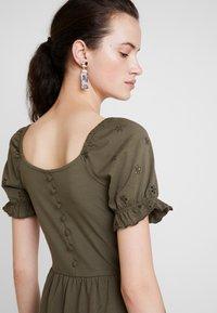 JDY - JDYVICTORIA DRESS - Jerseykjole - kalamata - 3