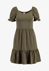 JDY - JDYVICTORIA DRESS - Jerseykjole - kalamata - 4
