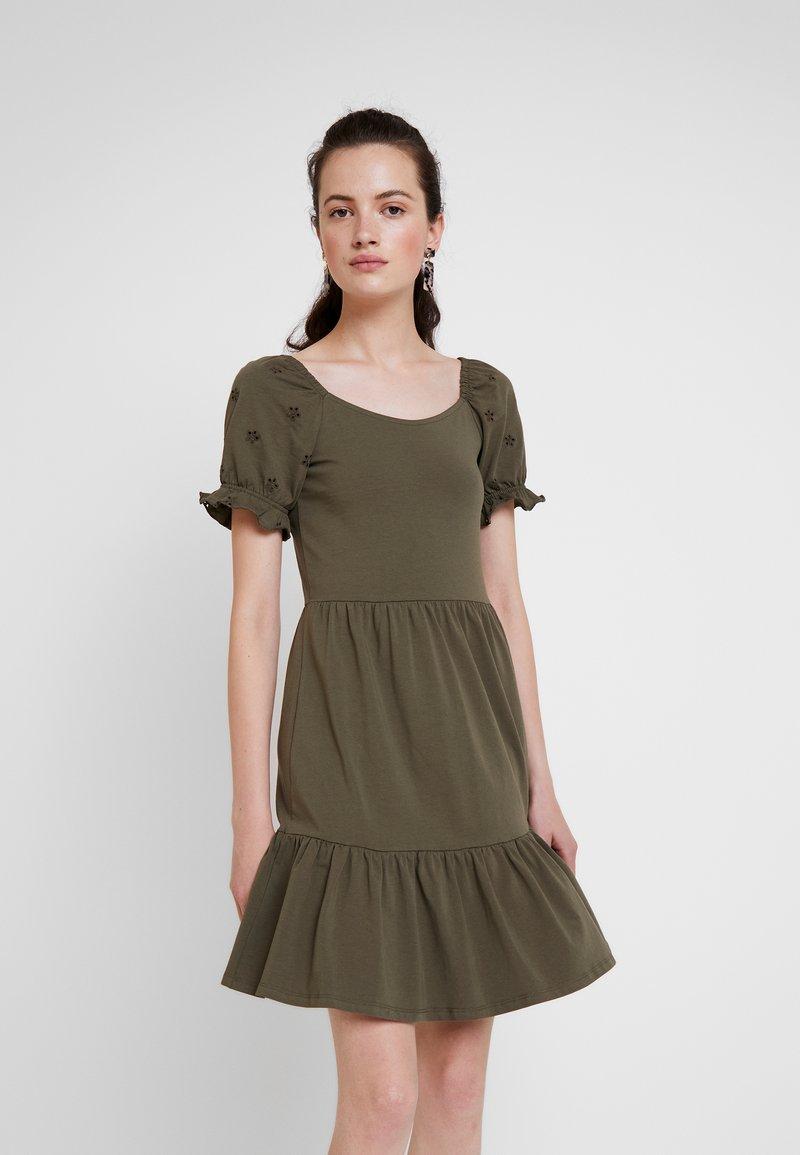 JDY - JDYVICTORIA DRESS - Jerseykjole - kalamata