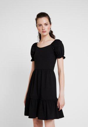 JDYVICTORIA DRESS - Žerzejové šaty - black