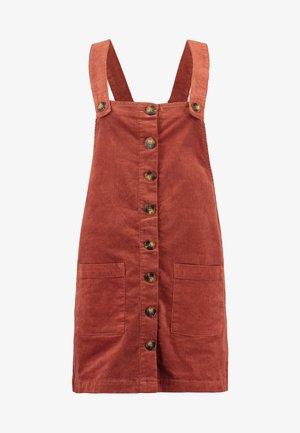 JDYERA OVERALL DRESS - Denní šaty - light red