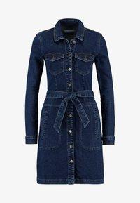 JDY - JDYSANNA SHIRT DRESS - Denimové šaty - dark blue denim - 5
