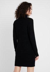 JDY - JDYDEBBIE ROLLNECK DRESS - Jumper dress - black - 2