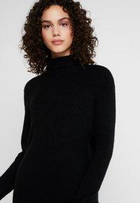 JDY - JDYDEBBIE ROLLNECK DRESS - Jumper dress - black - 4