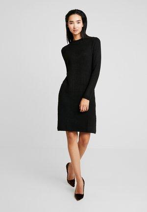 JDYMEZA DRESS - Strikket kjole - black