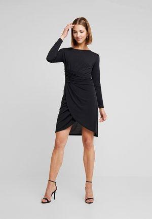 JDYHEART DRESS - Vestito di maglina - black
