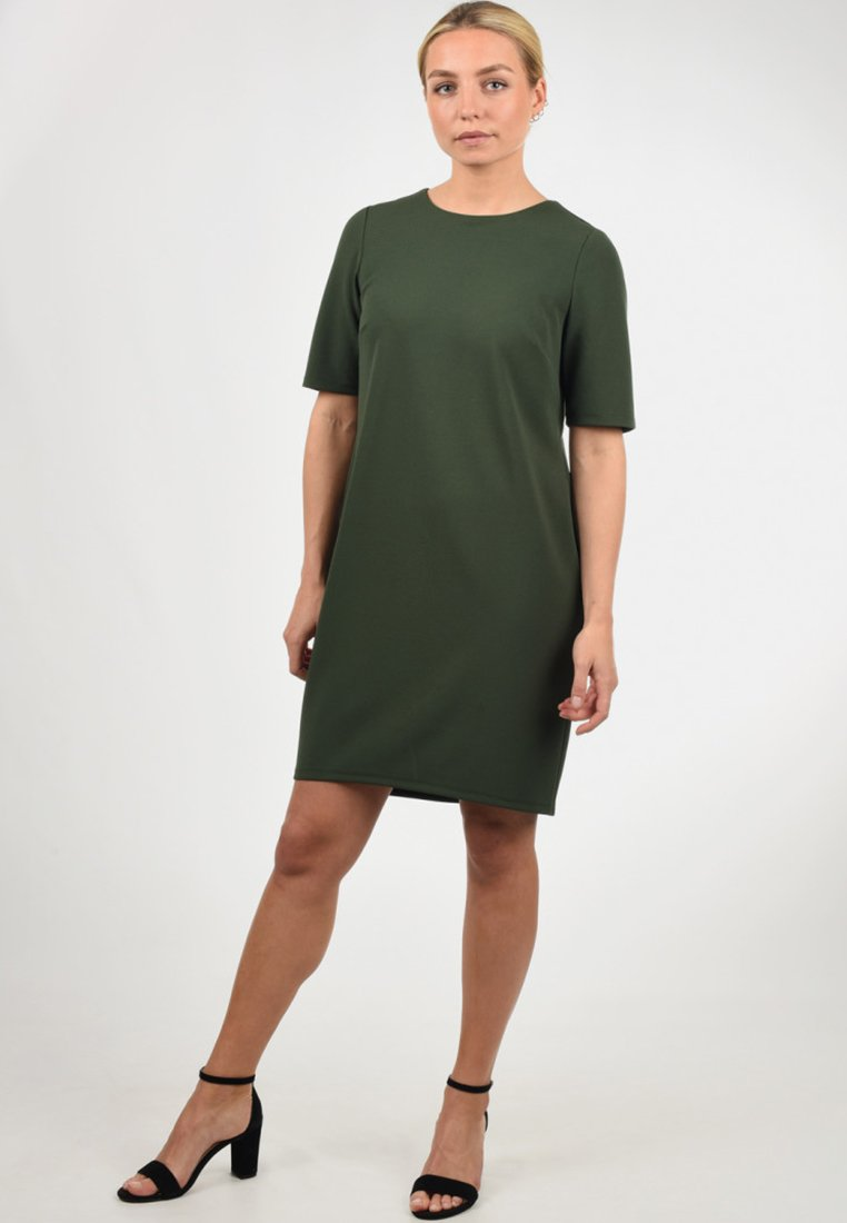 JDY - ESTELLE - Jerseykleid - olive