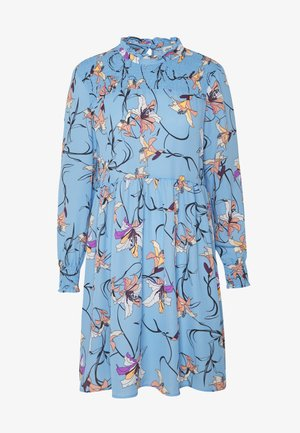 JDYNIKKY SMOCK DRESS - Vapaa-ajan mekko - blue bell/multi color