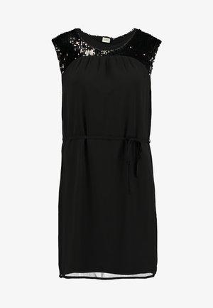 JDYOTIS UPPER SEQUINS DRESS - Cocktailkjole - black