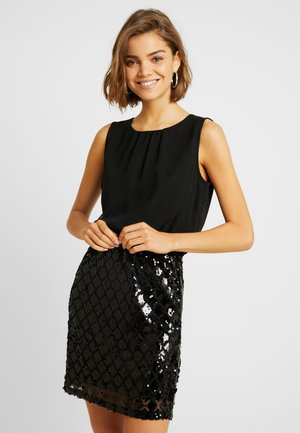 JDYOZARK PARTY DRESS - Cocktailjurk - black