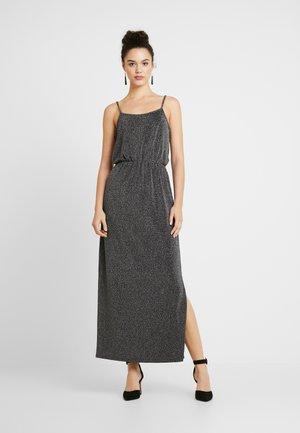 Koktejlové šaty/ šaty na párty - silver lurex