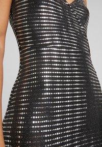 JDY - Vestido de cóctel - black/silver - 4