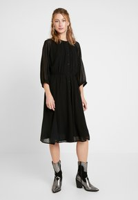 JDY - JDYBLAIR 3/4 DRESS - Robe d'été - black - 0