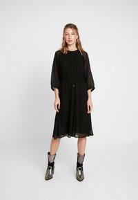 JDY - JDYBLAIR 3/4 DRESS - Robe d'été - black - 1