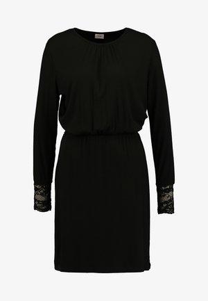 JDYMOLLY DRESS - Neulemekko - black