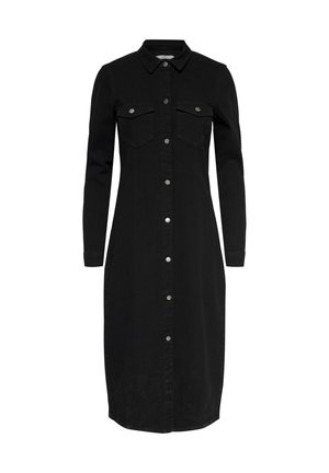 Denim dress - black denim
