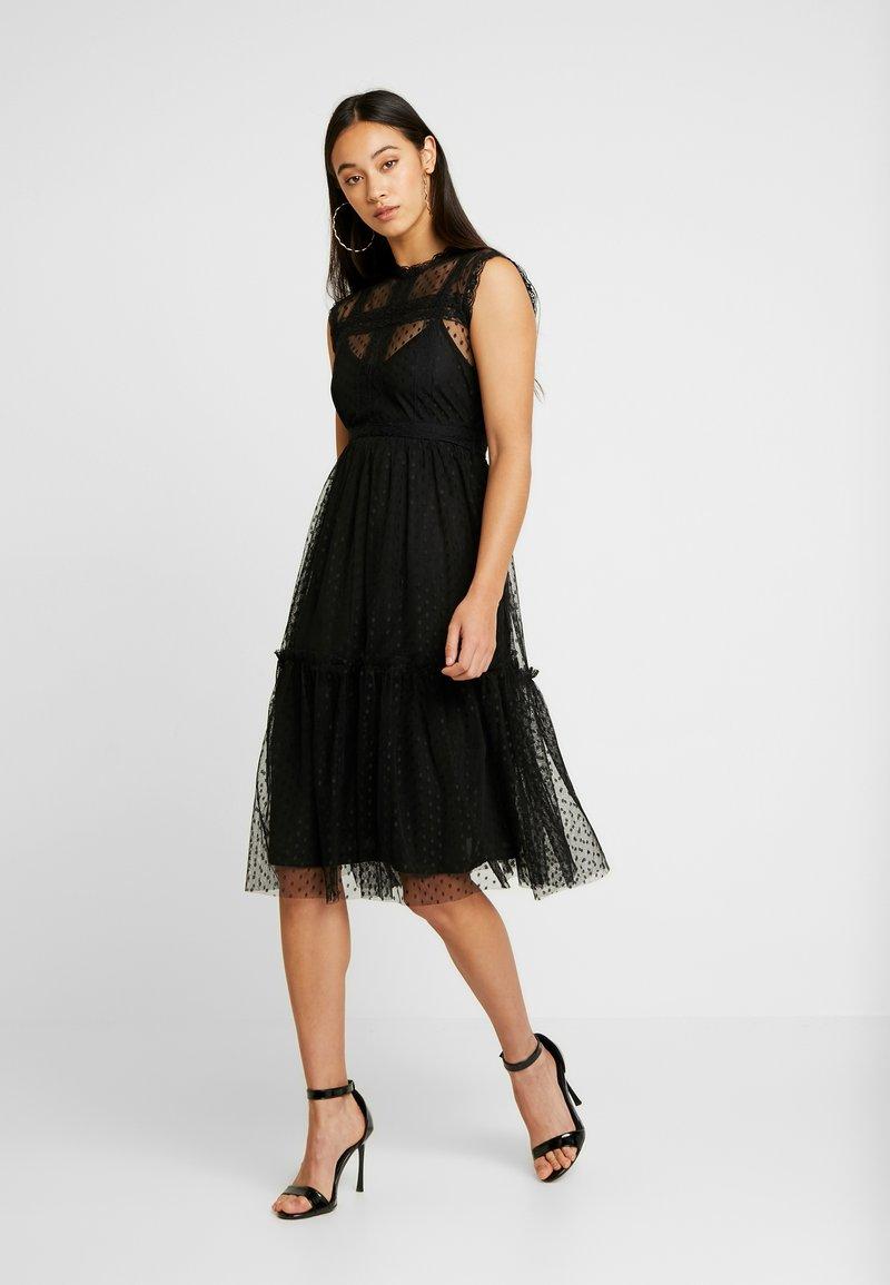 JDY - JDYLINE DRESS - Koktejlové šaty/ šaty na párty - black