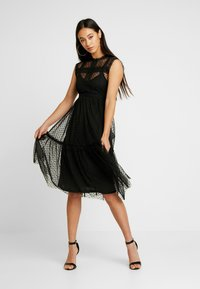JDY - JDYLINE DRESS - Cocktailkjoler / festkjoler - black - 2