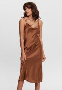JDY - Cocktail dress / Party dress - brown - 0