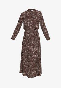 JDY - JDYRICCI DRESS - Robe longue - chicory coffee/leo - 3