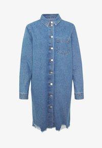 JDY - JDYSANSA DRESS RAW  - Spijkerjurk - medium blue denim - 5