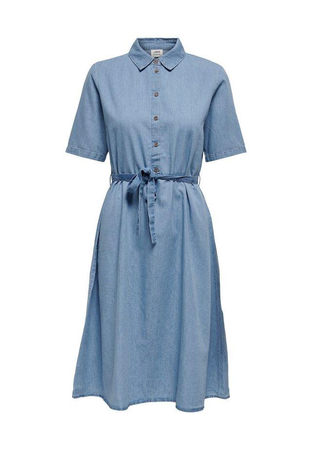 JDYROGER - Sukienka jeansowa - light blue denim