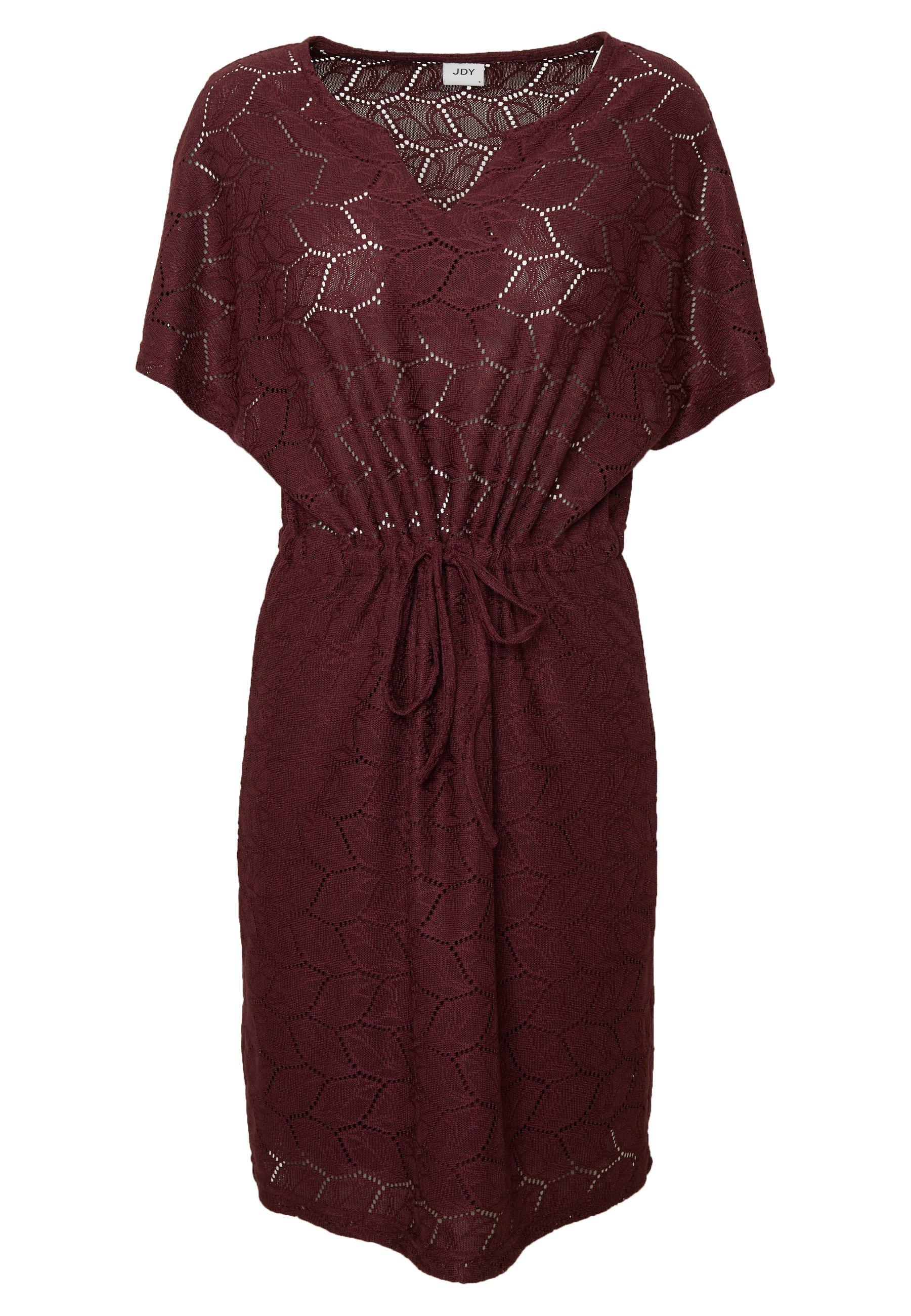 Jdy Jdytag Belt Dress - Robe Pull Port Royale