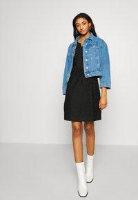JDY - JDYTAG BELT DRESS - Jumper dress - black - 1